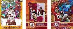 4 Bryce Young 2020 Very First Ever Rainbow Gold College Rookie Card Alabama