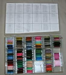 3 Boxes Of Dmc Embroidery Floss/thread