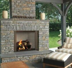 Majestic Castlewood 42 Outdoor Wood Fireplace Odcastlewd-42 Traditional