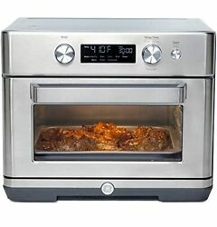Ge Digital Air Fry 8-in-1 Toaster Oven Large Capacity Fits 12 Pizza 8 Cook Mo