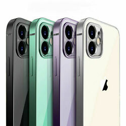 SHOCKPROOF Plating clear Case For iPhone 13 12 11 Pro MAX Mini XR XS X 7 8Cover