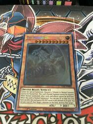 The Winged Dragon Of Ra 1st Edition Ghost Rare | Led7-en000 | Vlp