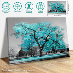Large Tree Unframed Modern Wall Art Oil Painting Print Canvas Picture Home Decor