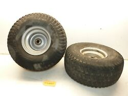 Simplicity Broadmoor Hydro 16 V-twin Tractor Dico 15x6.00-6 Front Tires And Rims