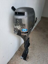 Nissan Marine Nsf8a 8 Hp 4-stroke Long Shaft Outboard Boat Motor Just Serviced