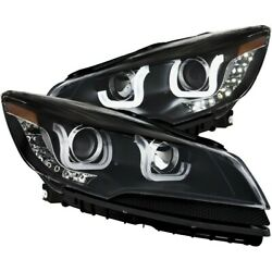 111324 Anzo Headlight Lamp Driver And Passenger Side New Lh Rh For Ford Escape
