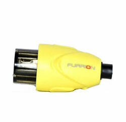 Furrion F15fmp-sy 15/20 Universal Amp Straight Blade Female Connector - Yellow