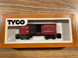 Vintage Ho Scale Tyco Western And Atlantic 1860 Box Car 317a400 New