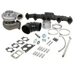 Bd Diesel Isx Turbocharger And Manifold Package - S400sx4 75mm Cast / 96mm 1.32a/r