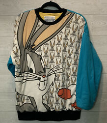 90s Vintage Looney Tunes American Characters Bugs Bunny / Daffy Duck Jacket