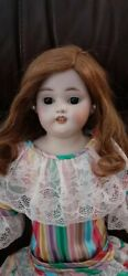 German Simon And Halbig 1080 Bisque Shoulder Head 26 Doll From 1920and039s