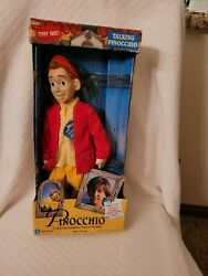 Equity Toys 13 Talking Doll Pinocchio Jonathan Taylor Thomas And Poster 1996