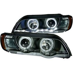 121398 Anzo Headlight Lamp Driver And Passenger Side New Lh Rh For E53 X5 Series