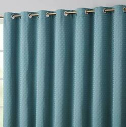 Hlc.me Siena 100 Complete Blackout Thermal Insulated Window Curtain Grommet ...