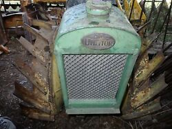1920 Midwest Utilitor Traktor Antique Garden Tractor Complete Very Cool