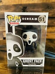Funko Pop Ghost Face 51 Scream Movies Vaulted