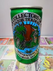Bcca Canvention Xv Orlando Florida 1985 Gator Traders Empty Beer Can 208-4