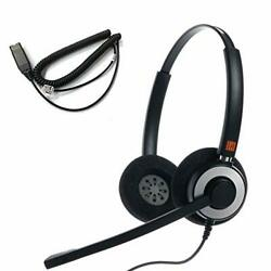 Ipd Iph-160 Monaural Nc Headset Wit His-02 Cable For Avaya Ip 1608,1616, 9610, 9