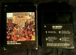 1972 The Mothers Grand Wazoo 8 Track Audio Tape With Slipcase Tested Frank Zappa
