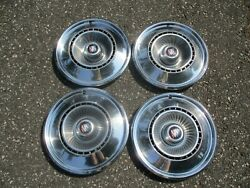 Genuine 1968 Buick Lesabre 15 Inch Hubcaps Wheel Covers Set