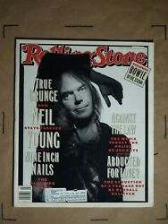 Rolling Stone Magazine Issue 648 Neil Young, Nine Inch Nails, David Bowie In The