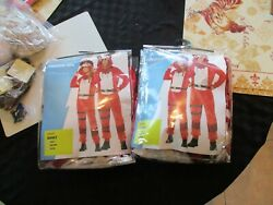 2 Adult M And L Fortnite Tricera Ops Plush Union Suit Costumes Halloween Couples