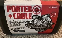 New Open Box Porter Cable 423mag Heavy Duty 7-1/4-inch Circular Saw With Blade