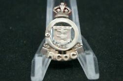 Ww2 Canadian Rcoc Sterling Ordnance Corps Sweetheart Pin