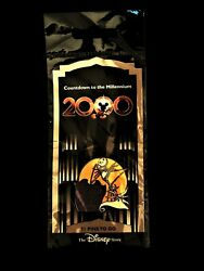2000 Disney Countdown To The Millennium Nightmare Before Christmas 72 Pin New