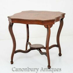 Victorian Occasional Table - Antique Rosewood 1880