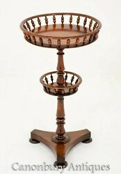 Victorian Occasional Table - Antique Side Tables 1850