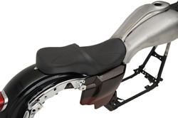 Drag Specialties Low Profile Tour Seat For Ness Winged Tank 0801-1077