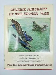 Ww1 British German Marine Aircraft Of The 1914 To 1918 War Reference Book