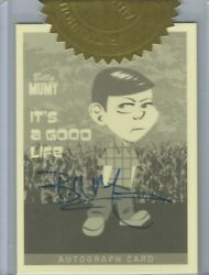 Twilight Zone Archives 2020 Ppa1 Billy Mumy 6 Case Incentive Autograph Card