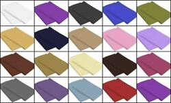 100% Egyptian Cotton Set of 2 Pillow Cases 400 Tc Queen King Standard All Size