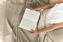 Made 800 Tc Ivory Solid Bed Sheets Set Queen/king All Size 100 Egyptian Cotton