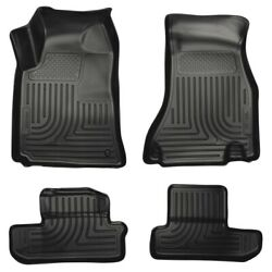 98021 Husky Liners Floor Mats Front New Black Coupe For Dodge Challenger 08-10