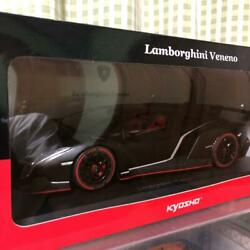 Kyosho Lamborghini Veneno 1/18 Scale Red Diecast And Toy Vehicles