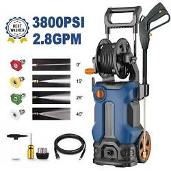 3800psi 2.8gpm Electric Pressure Washer Water Cleaner Power Sprayer 1800w Usa