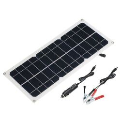 Dc5v/dc12v 10w Dual Output Solar Power Energy Charging Panel With Usb Interface