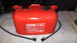 Johnson Evinrude Outboard Motor Boat Gas Can Omc 6 Gallon Fuel Tank Needs Clean
