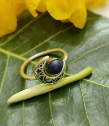 Lapis Lazuli Ring, 925 Silver, Everyday Ring, Personalized Ring, Antique Ring Gi