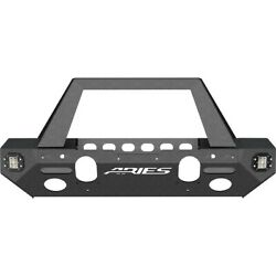 2082046 Aries Bumper Face Bar Front New For Jeep Wrangler Jk 2018
