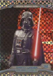 Star Wars Chrome Perspectives - 26e X-fractor Parallel Card 40/99