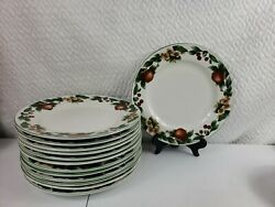 The Cades Cove Collection Apples Dinner Plates Lot Of 13