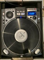 Numark Cdx Professional Cd Turntable Unit 1 Of 2-good Working Condition W/case