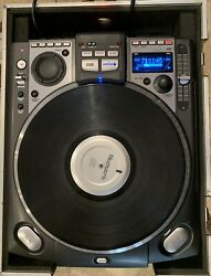 Numark Cdx Professional Cd Turntable Unit 2 Of 2-good Working Condition W/case
