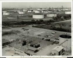 1961 Press Photo Sinclair-koppers Chemical Plant And Sinclair Refinery In Texas
