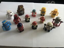 1977, 1978 Vintage Tomy Space Rascal Robot Wind Up Toys, Working Lot-13