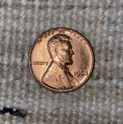 1964 Lincoln Memorial Cent Penny Msrd Excellent Luster Possible Sms